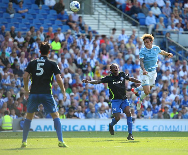 Brighton and Hove Albion v Lazio